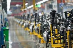 Robô da fábrica do carro Foto de Stock
