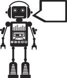 Robô da música ilustração do vetor