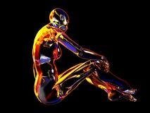 Robô da mulher Fotografia de Stock Royalty Free