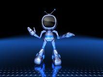 Robô da tevê ilustração royalty free