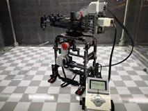 Robô de Mindstorm - Lego Exhibition Invasion de Giants imagens de stock