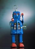 Robô do brinquedo do vintage Fotografia de Stock Royalty Free