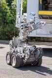Robô do esquadrão da morte da polícia imagens de stock royalty free