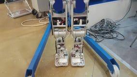 Robô do protótipo na exposição filme