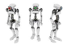 Robô magro, 3 ilustração do vetor