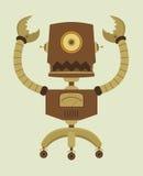 Robô retro Fotografia de Stock Royalty Free