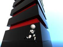 Robô Running Imagens de Stock