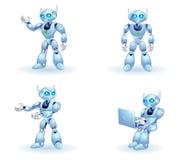 Robôs Foto de Stock Royalty Free