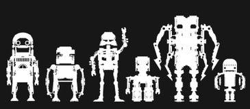 Robôs Imagens de Stock