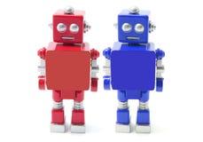 Robôs do brinquedo Imagem de Stock Royalty Free