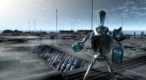 Robô Fotografia de Stock