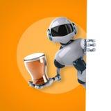Robô ilustração stock