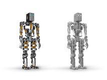 Robô Foto de Stock Royalty Free
