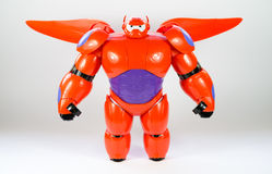 Robô BAYMAX do filme GRANDE de Disney do HERÓI 6 Fotografia de Stock Royalty Free
