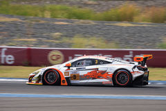 Rob Bell of Clearwater Racing in Asian Le Mans Series - Race at Royalty Free Stock Photos
