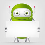 Robô bonito Foto de Stock Royalty Free