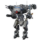 Robô da batalha Imagem de Stock