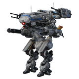 Robô da batalha Foto de Stock Royalty Free
