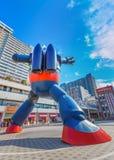Robô de Gigantor (Tetsujin 28) em Kobe, Japão Foto de Stock