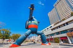 Robô de Gigantor (Tetsujin 28 vai) Fotos de Stock Royalty Free