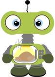 Robô de Lil Foto de Stock Royalty Free