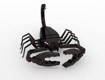 Robô do escorpião Fotos de Stock Royalty Free