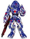 Robô do estrangeiro do Scifi Imagens de Stock Royalty Free