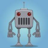 Robô dos desenhos animados Fotografia de Stock Royalty Free