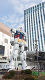 Robô fantástico enorme em Odaiba Fotos de Stock