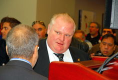 Rob Ford Royalty Free Stock Photos