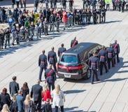 Rob Ford Funeral Scenes, Toronto, Canada Royalty-vrije Stock Fotografie