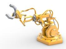 Robô industrial Fotografia de Stock