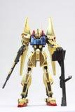 Robô japonês que guarda a bazuca Fotografia de Stock Royalty Free