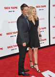 Rob Lowe & Sheryl Berkoff Stock Photo