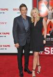Rob Lowe & Sheryl Berkoff Royalty Free Stock Image