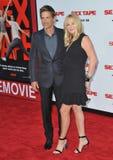 Rob Lowe & Sheryl Berkoff Stock Photos