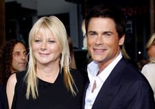 Rob Lowe and Sheryl Berkoff Stock Photo