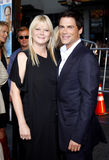 Rob Lowe and Sheryl Berkoff Stock Photography