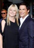 Rob Lowe und Sheryl Berkoff Lizenzfreies Stockfoto