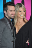 Rob McElhenney & Kaitlin Olson Stock Photography