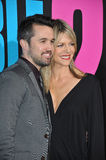 Rob McElhenney & Kaitlin Olson Stock Photos