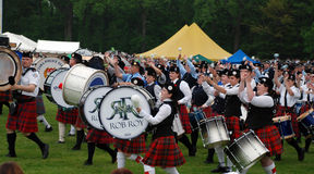 The Rob Roy drum corps Royalty Free Stock Photography