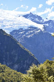 Rob Roy Glacier track. The Rob Roy Glacier track is located within the Southern Alps of New Zealand`s South Island. The Rob Roy Glacier is a small hanging royalty free stock images