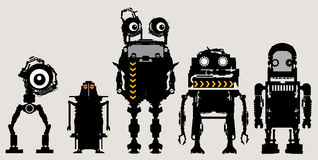 Robôs Foto de Stock
