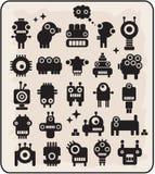 Robôs, monstro, coleção #3. dos estrangeiros. Foto de Stock Royalty Free
