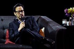 Rob Schneider à Manille image libre de droits