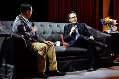 Rob Schneider i Manila royaltyfri bild