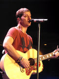 Rob Thomas of Matchbox Twenty - Live Performance Royalty Free Stock Image