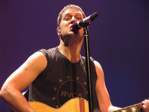 Rob Thomas of Matchbox Twenty - Live Performance Stock Photography