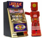 Robô vermelho Imagens de Stock